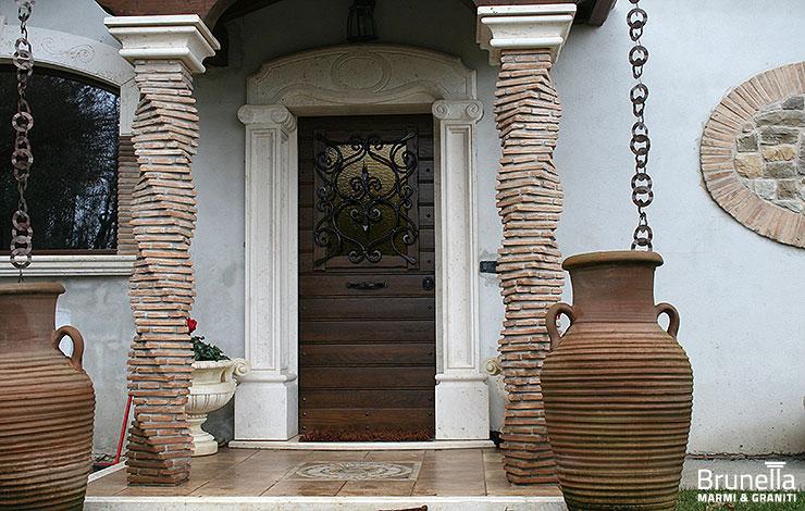 Imbotti e cornici brunella - Imbotti in alluminio per finestre ...