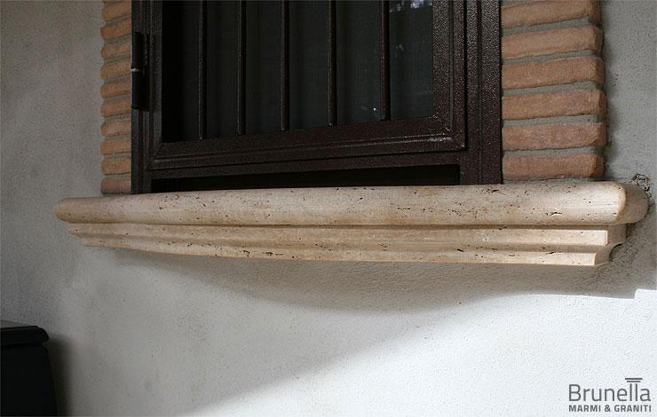 Soglie e copertine brunella - Soglie in marmo per finestre ...
